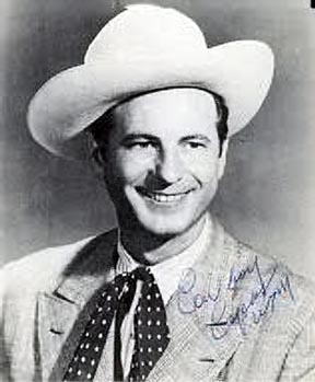 Autographed photo of Cowboy Copas